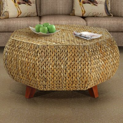 Dimitri Octagonal Coffee Table Finish: Natural