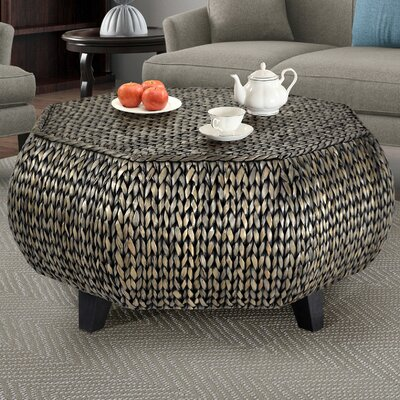 Dimitri Octagonal Coffee Table Finish: Silver Gray