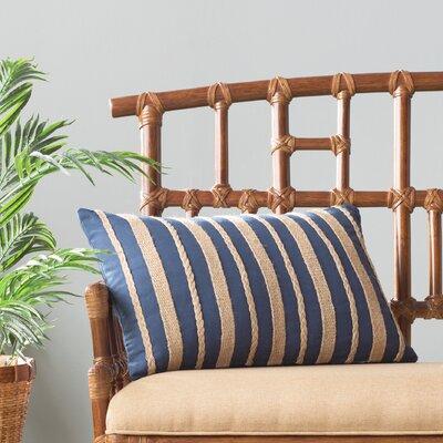 Ergenekon Cotton Throw Pillow Color: Blue