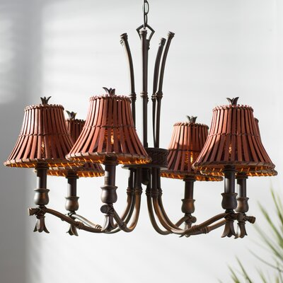 Bruno 6-Light Shaded Chandelier