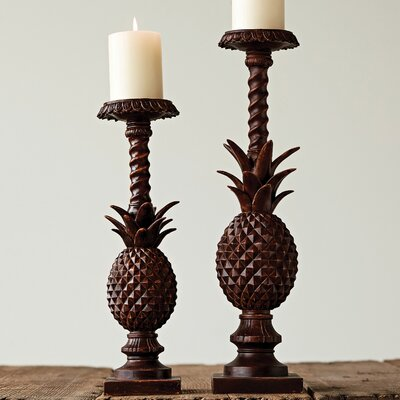 Vickers 2-Piece Candlestick Set