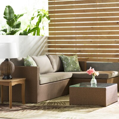 Trueman 3 Piece Seating Group with Cushion