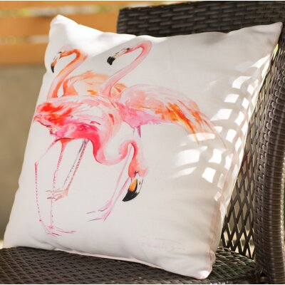 Jenny Outdoor Throw Pillow Size: 16 H x 16 W x 2 D