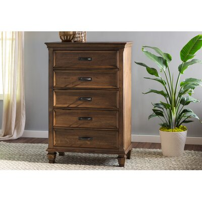 Harrellsville 5 Drawer Chest