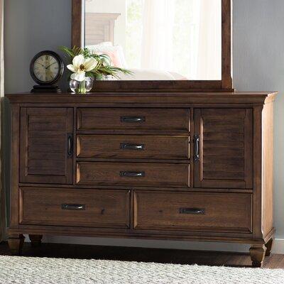 Harrellsville 5 Drawer Dresser