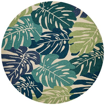 Wallingford Hand-Knotted Indoor/Outdoor Area Rug Rug Size: Round 710