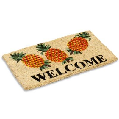 Sorrel Pineapple Doormat