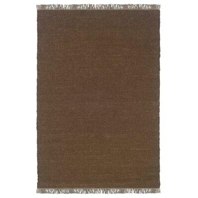Landenberg Hand-Woven Brown Area Rug