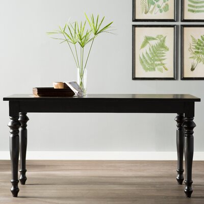Canfield Dining Table Finish: Antique Black
