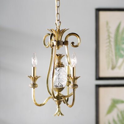 Terry 3-Light Candle-Style Chandelier Finish: Burnished Brass