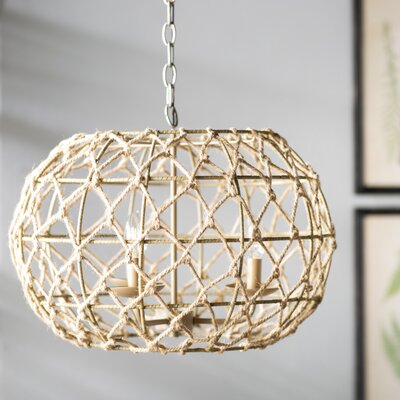 Joni 3-Light Globe Pendant