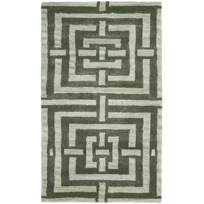 Holloman Sage Rug Rug Size: Rectangle 26 x 4