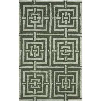 Holloman Sage Rug Rug Size: Rectangle 4 x 6