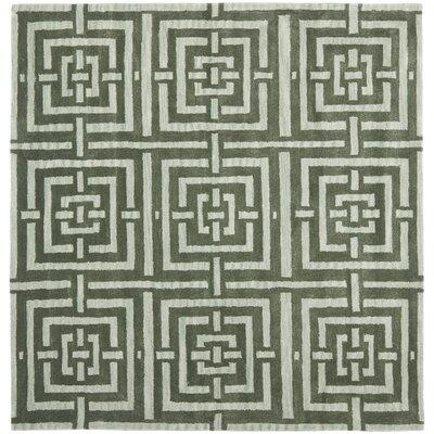 Holloman Sage Rug Rug Size: Square 7