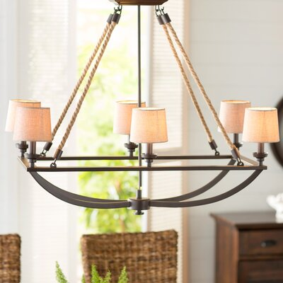 Ballantine 6-Light Shaded Chandelier