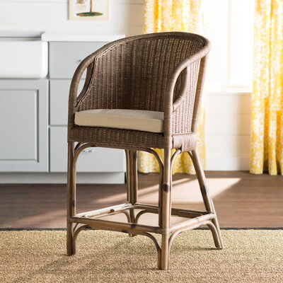 Westhope 30 Rattan Bar Stool with Cushion