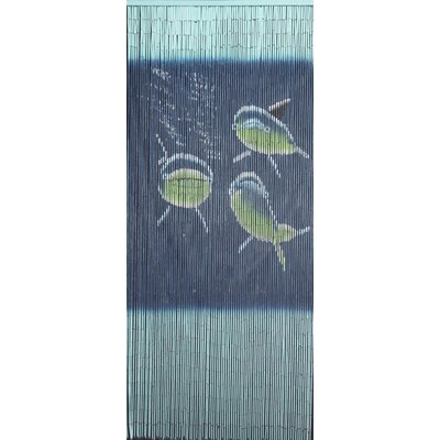 Porter Rayon Tri Dolphin Single Curtain Panel