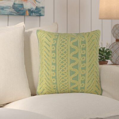 Deryneia Grove Indoor/Outdoor Throw Pillow Color: Sage