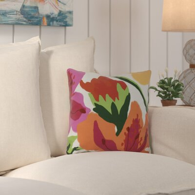 Westcliff Print Outdoor Throw Pillow Size: 18
