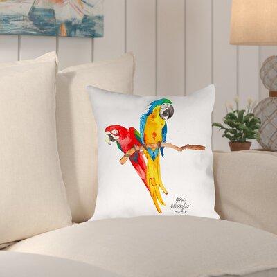 Gina Maher Nichols Throw Pillow Size: 20 H x 20 W x 2 D