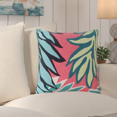 Deryneia Tropic Leaf Indoor/Outdoor Throw Pillow