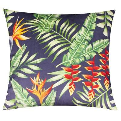 Karakum Tropical Fern Throw Pillow