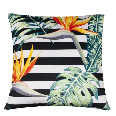 Linden Tropical Paradise Throw Pillow