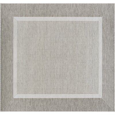 Linden Taupe Indoor/Outdoor Area Rug Rug Size: Square 86