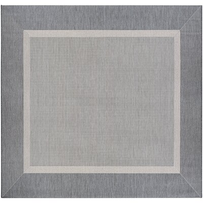 Karakum Gray Indoor/Outdoor Area Rug Rug Size: Square 76