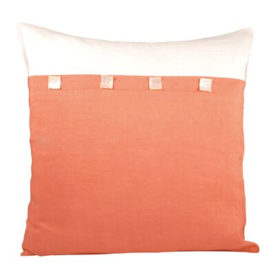 Ginger Cotton Throw Pillow