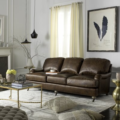 Georgios Leather Sofa