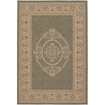 Southard Natural Indoor/Outdoor Area Rug Rug Size: Runner 23 x 710