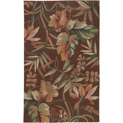 Wallingford Hand-Woven Light Cocoa Indoor/Outdoor Area Rug Rug Size: 36 x 56