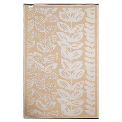 Dixon White/Beige Indoor/Outdoor Area Rug Rug Size: 4 x 6