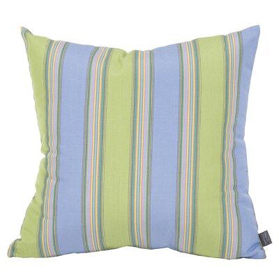 Wilsmere Striped Indoor/Outdoor Throw Pillow