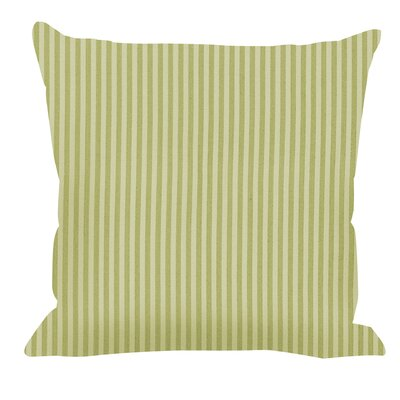 Salisbury Throw Pillow Color: Celery, Size: 20 x 20