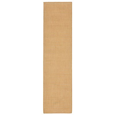 Cecile Beige Indoor/Outdoor Area Rug Rug Size: Runner 111 x 76
