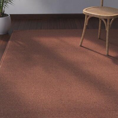 Josephine Paprika Indoor/Outdoor Area Rug Rug Size: Rectangle 8 x 11