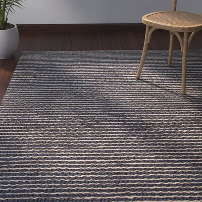 Reynoso Hand-Woven Gray Area Rug Rug Size: Rectangle 2 x 3