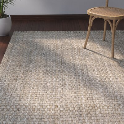 Rose Hand Woven Brown Area Rug Rug Size: Rectangle 4 x 6
