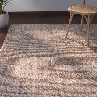 Raposa Brown/Chocolate Area Rug Rug Size: 2 x 3