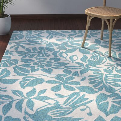 Artemi Biscay Bay Indoor/Outdoor Area Rug Rug Size: Rectangle 5 x 76