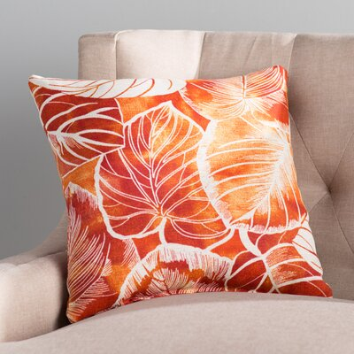 Royal Outdoor Throw Pillow Color: Keycove Cayenne