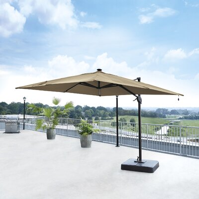 10 Gypsou Square Cantilever Umbrella Fabric: Linen