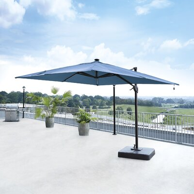 10 Gypsou Square Cantilever Umbrella Fabric: Blue