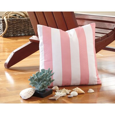 Molesley Throw Pillow Color: Pink
