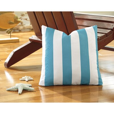 Molesley Throw Pillow Color: Aqua