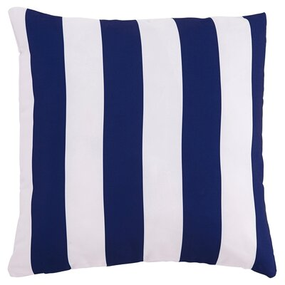 Molesley Throw Pillow Color: Navy