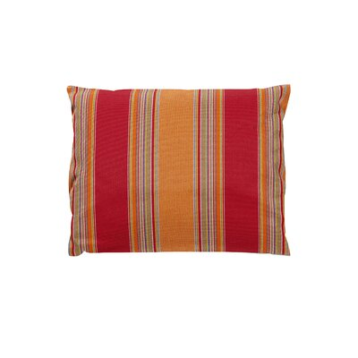 Trinidad Sunbrella Throw Pillow Color: Bravada Salsa