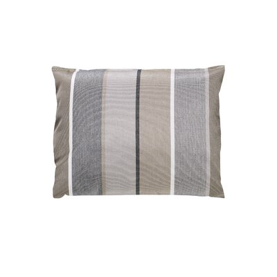 Adriano Sunbrella Throw Pillow Color: Milano Char